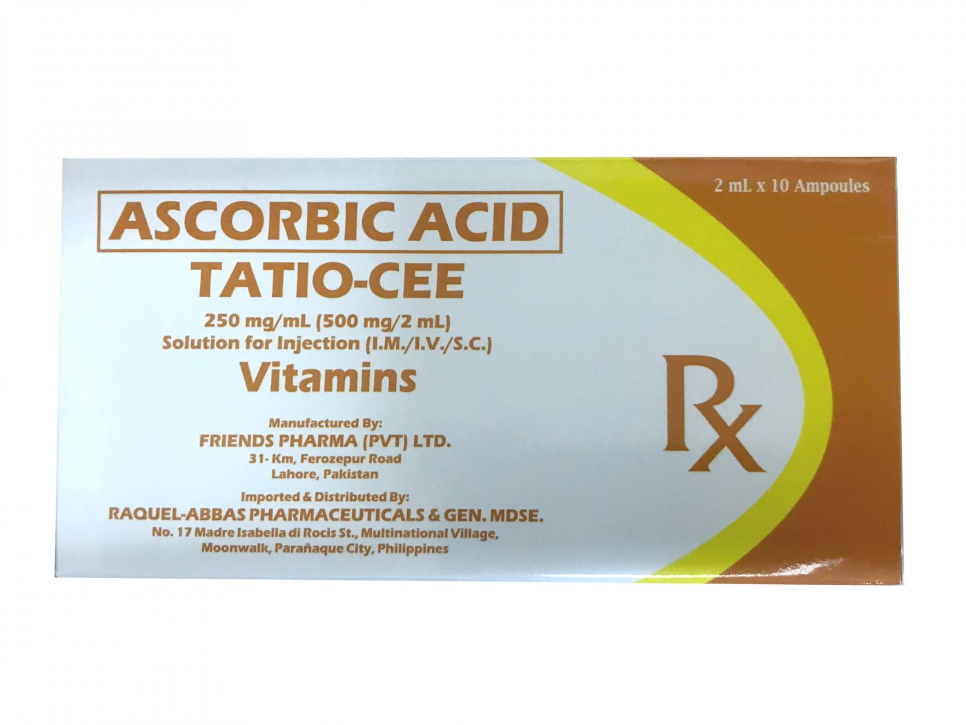 Tatio-Cee Ascorbic Acid